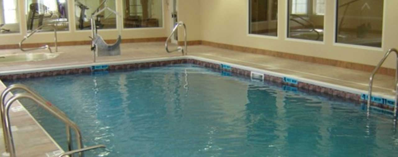 indoor pool at La Quinta Inn & Suites Latham Albany Airport